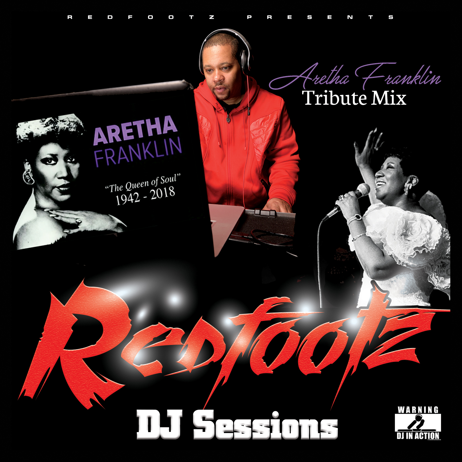 Redfootz DJ Sessions Holiday Mix cover