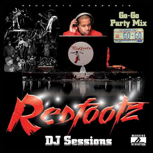 Redfootz DJ Sessions Go Go Party Mix cover