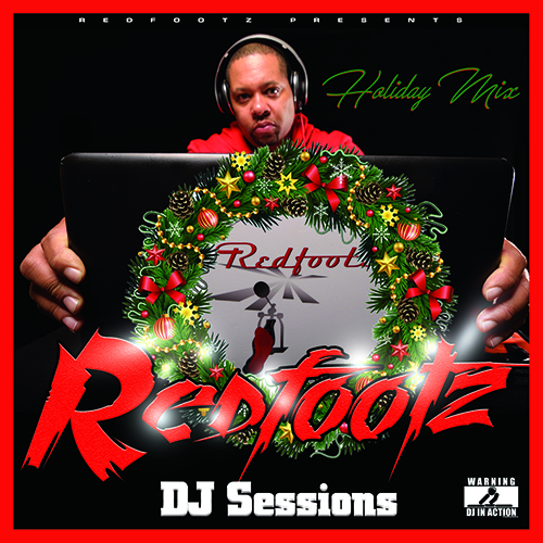 Redfootz DJ Sessions Mixtape cover