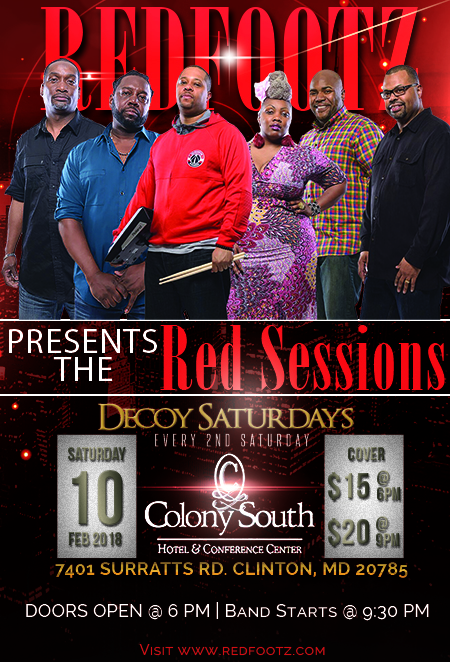 Redfootz Presents The Red Sessions at Decoy Lounge