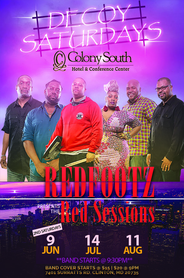 Redfootz Presents The Red Sessions at Decoy Lounge Summer Series