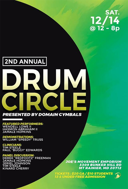 2nd Annual Drum Circle flyer