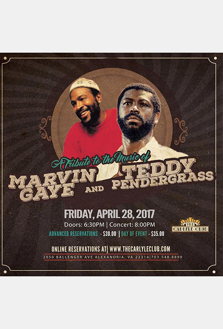 A Tribute to the Music of Marvin Gaye and Teddy Pendergrass