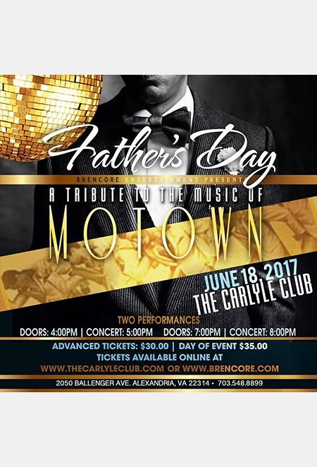 A Tribute to the Music of Motown Father's Day Show