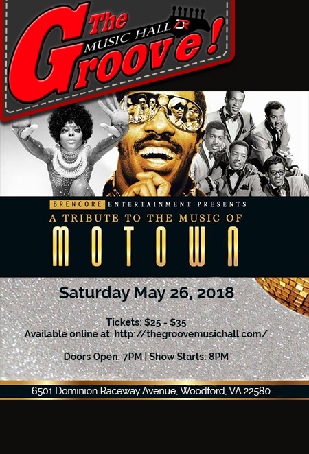 Motown Tribute flyer