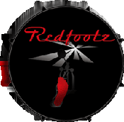 Redfootz Drum logo