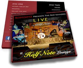 Redfootz Presents The Red Sessions - Live at the Half Note Lounge(2 disc set)