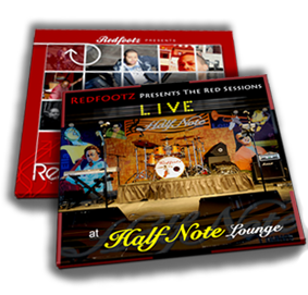 Redfootz Presents The Red Sessions(1 disc) & Redfootz Presents The Red Sessions - Live at the Half Note (2 disc set)